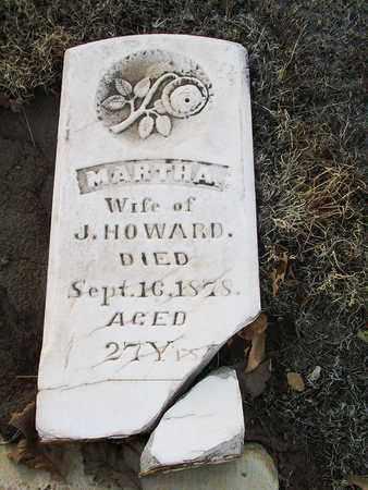 HOWARD, MARTHA - Barton County, Kansas   MARTHA HOWARD - Kansas Gravestone Photos
