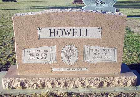 HOWELL, VIRGIL VERNON - Barton County, Kansas | VIRGIL VERNON HOWELL - Kansas Gravestone Photos