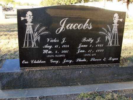 JACOBS, VICTOR J - Barton County, Kansas | VICTOR J JACOBS - Kansas Gravestone Photos
