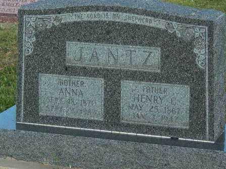 JANTZ, HENRY C - Barton County, Kansas | HENRY C JANTZ - Kansas Gravestone Photos