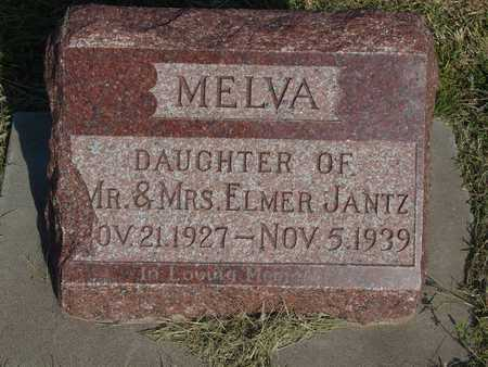 JANTZ, MELVA - Barton County, Kansas | MELVA JANTZ - Kansas Gravestone Photos