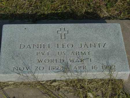 JANTZ, DANIEL LEO   (VETERAN WWI) - Barton County, Kansas   DANIEL LEO   (VETERAN WWI) JANTZ - Kansas Gravestone Photos