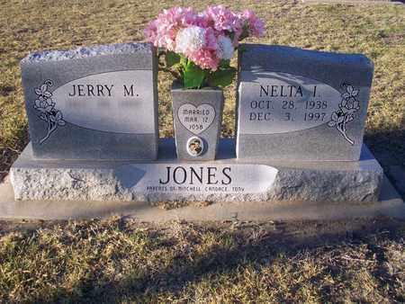 JONES, NELTA I - Barton County, Kansas | NELTA I JONES - Kansas Gravestone Photos