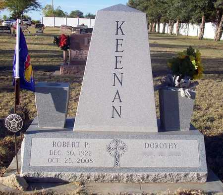 KEENAN, ROBERT P - Barton County, Kansas   ROBERT P KEENAN - Kansas Gravestone Photos