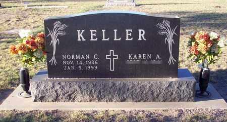 KELLER, NORMAN C - Barton County, Kansas | NORMAN C KELLER - Kansas Gravestone Photos