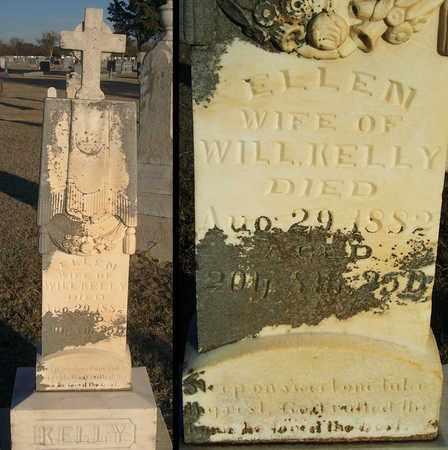 KELLY, ELLEN - Barton County, Kansas | ELLEN KELLY - Kansas Gravestone Photos