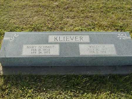 KLIEVER, MARY - Barton County, Kansas | MARY KLIEVER - Kansas Gravestone Photos
