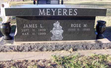 MEYERES, JAMES L - Barton County, Kansas   JAMES L MEYERES - Kansas Gravestone Photos