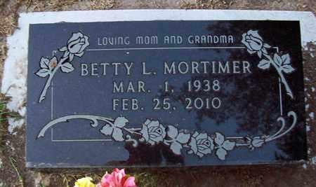 MORTIMER, BETTY L - Barton County, Kansas | BETTY L MORTIMER - Kansas Gravestone Photos