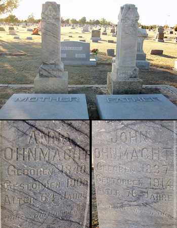OHNMACHT, ANNA - Barton County, Kansas | ANNA OHNMACHT - Kansas Gravestone Photos