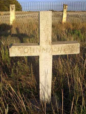 OHNMACHT, UNKNOWN (BACK) - Barton County, Kansas | UNKNOWN (BACK) OHNMACHT - Kansas Gravestone Photos