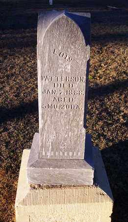 PATTERSON, LOIS - Barton County, Kansas | LOIS PATTERSON - Kansas Gravestone Photos