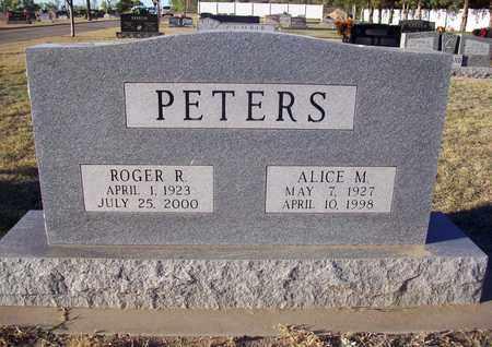 PETERS, ROGER R - Barton County, Kansas | ROGER R PETERS - Kansas Gravestone Photos