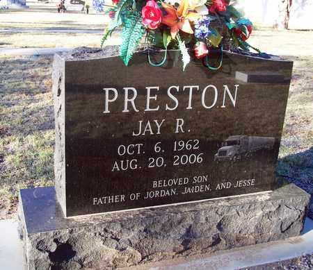 PRESTON, JAY R - Barton County, Kansas | JAY R PRESTON - Kansas Gravestone Photos