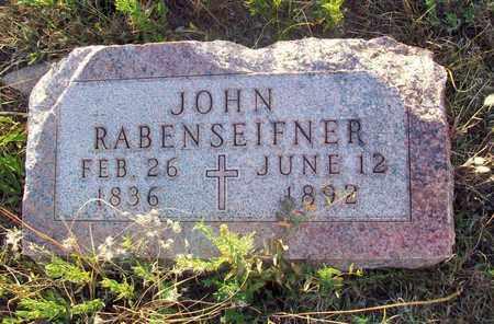 RABENSEIFNER, JOHN - Barton County, Kansas | JOHN RABENSEIFNER - Kansas Gravestone Photos