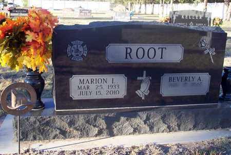 ROOT, MARION L - Barton County, Kansas | MARION L ROOT - Kansas Gravestone Photos