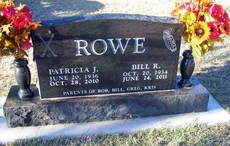 ROWE, BILL R - Barton County, Kansas | BILL R ROWE - Kansas Gravestone Photos