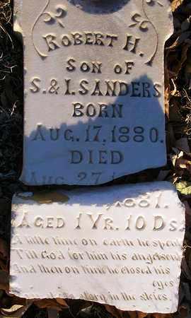 SANDERS, ROBERT H - Barton County, Kansas   ROBERT H SANDERS - Kansas Gravestone Photos
