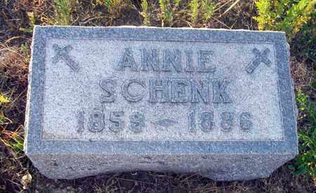 SCHENK, ANNIE - Barton County, Kansas | ANNIE SCHENK - Kansas Gravestone Photos