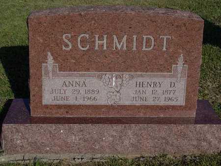 SCHMIDT, HENRY D - Barton County, Kansas | HENRY D SCHMIDT - Kansas Gravestone Photos