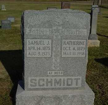 SCHMIDT, KATHERINE - Barton County, Kansas | KATHERINE SCHMIDT - Kansas Gravestone Photos