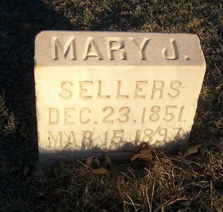 SELLERS, MARY J - Barton County, Kansas   MARY J SELLERS - Kansas Gravestone Photos