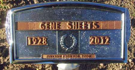 SHEETS, GENE - Barton County, Kansas | GENE SHEETS - Kansas Gravestone Photos