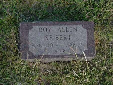 SIEBERT, ROY ALLEN - Barton County, Kansas | ROY ALLEN SIEBERT - Kansas Gravestone Photos