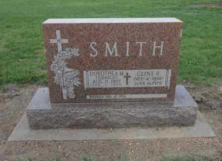 SMITH, CLINT R - Barton County, Kansas | CLINT R SMITH - Kansas Gravestone Photos