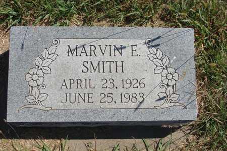 SMITH, MARVIN E - Barton County, Kansas   MARVIN E SMITH - Kansas Gravestone Photos