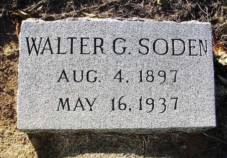 SODEN, WALTER G - Barton County, Kansas | WALTER G SODEN - Kansas Gravestone Photos