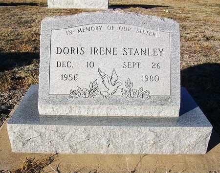 STANLEY, DORIS IRENE - Barton County, Kansas   DORIS IRENE STANLEY - Kansas Gravestone Photos
