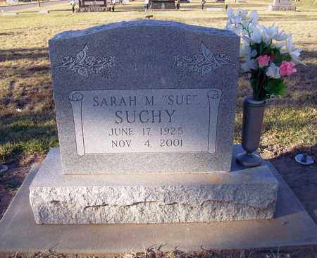 "SUCHY, SARAH M ""SUE"" - Barton County, Kansas 