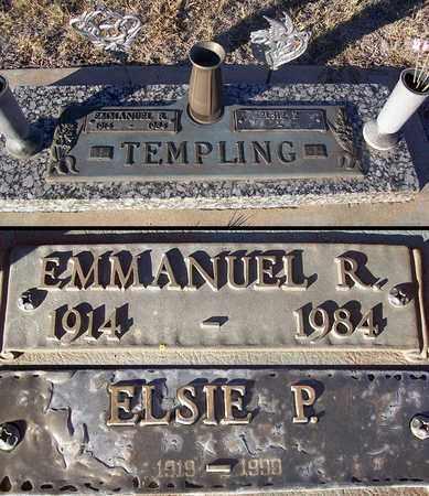 TEMPLING, EMMANUEL R - Barton County, Kansas | EMMANUEL R TEMPLING - Kansas Gravestone Photos