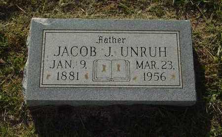 UNRUH, JACOB J - Barton County, Kansas   JACOB J UNRUH - Kansas Gravestone Photos