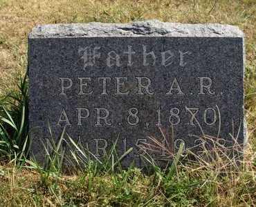 UNRUH, PETER A R - Barton County, Kansas | PETER A R UNRUH - Kansas Gravestone Photos