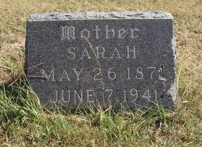 UNRUH, SARAH - Barton County, Kansas | SARAH UNRUH - Kansas Gravestone Photos