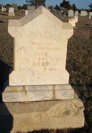 WATERBURY, SARAH - Barton County, Kansas   SARAH WATERBURY - Kansas Gravestone Photos