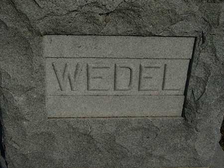 WEDEL, FAMILY STONE - Barton County, Kansas | FAMILY STONE WEDEL - Kansas Gravestone Photos