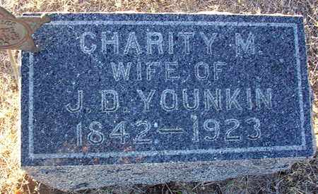 YOUNKIN, CHARITY M - Barton County, Kansas | CHARITY M YOUNKIN - Kansas Gravestone Photos