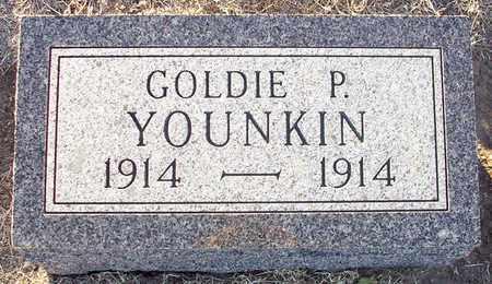 YOUNKIN, GOLDIE P - Barton County, Kansas | GOLDIE P YOUNKIN - Kansas Gravestone Photos