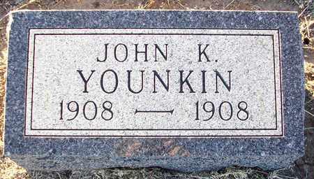 YOUNKIN, JOHN K - Barton County, Kansas | JOHN K YOUNKIN - Kansas Gravestone Photos
