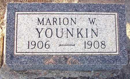 YOUNKIN, MARION W - Barton County, Kansas | MARION W YOUNKIN - Kansas Gravestone Photos