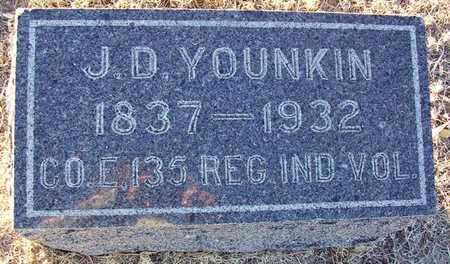 YOUNKIN, J D  (VETERAN UNION) - Barton County, Kansas | J D  (VETERAN UNION) YOUNKIN - Kansas Gravestone Photos