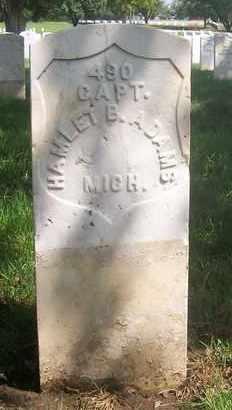 ADAMS, HAMLET B  (VETERAN UNION) - Bourbon County, Kansas   HAMLET B  (VETERAN UNION) ADAMS - Kansas Gravestone Photos