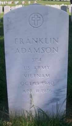 ADAMSON, FRANKLIN  (VETERAN VIET) - Bourbon County, Kansas | FRANKLIN  (VETERAN VIET) ADAMSON - Kansas Gravestone Photos