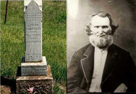 "ANDERSON, ROBERT ""UNCLE BOBBY"", REV - Bourbon County, Kansas | ROBERT ""UNCLE BOBBY"", REV ANDERSON - Kansas Gravestone Photos"