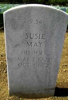 BAILEY, SUZIE MAY - Bourbon County, Kansas | SUZIE MAY BAILEY - Kansas Gravestone Photos