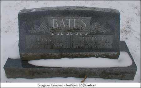 BATES, HARRY K. - Bourbon County, Kansas | HARRY K. BATES - Kansas Gravestone Photos