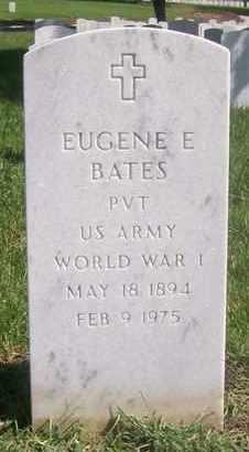 BATES, EUGENE E  (VETERAN WWI) - Bourbon County, Kansas   EUGENE E  (VETERAN WWI) BATES - Kansas Gravestone Photos